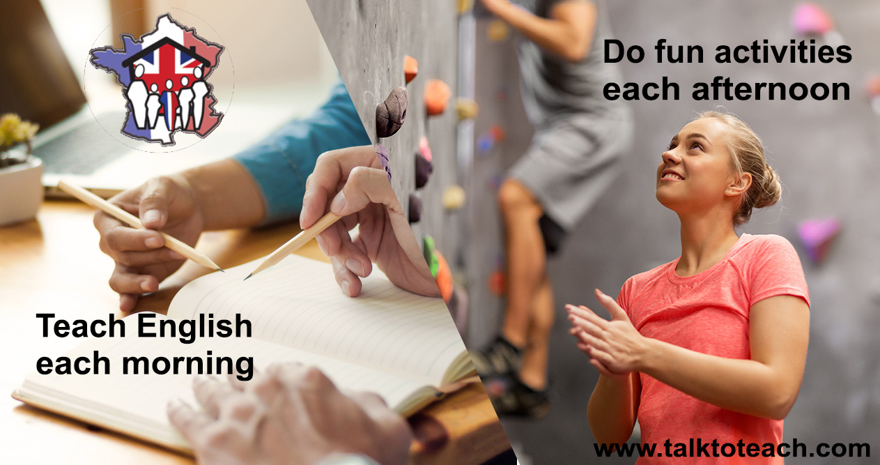 Teach English from home