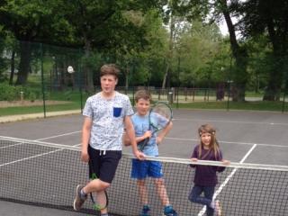 English and tennis